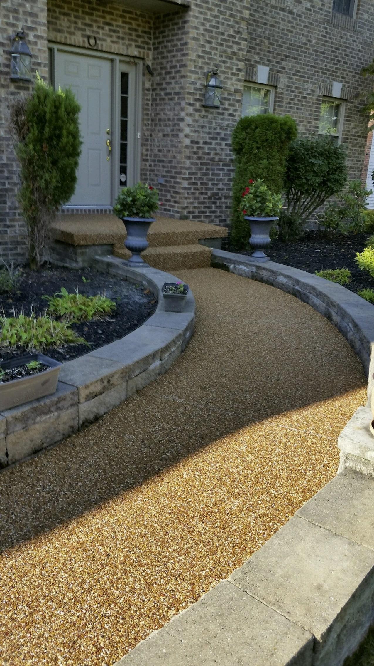 Concrete Porch, Cement Porch, Concrete Steps, Polyaspartic Coating